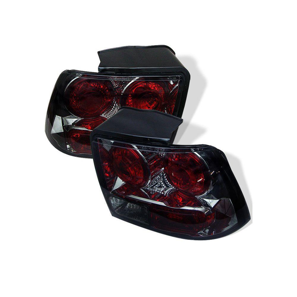 Spyder Auto ® - Smoke Euro Style Tail Lights (5003744)