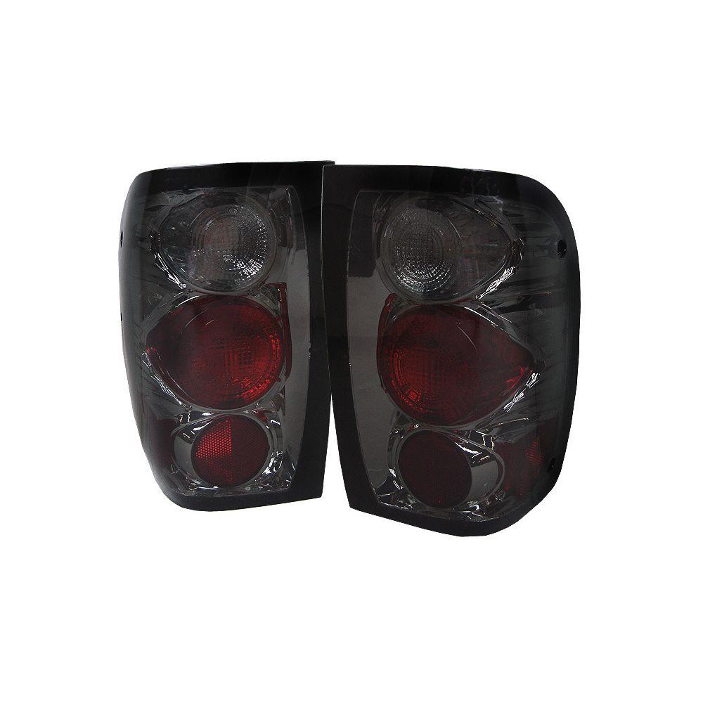 Spyder Auto ® - Smoke Euro Style Tail Lights (5003881)