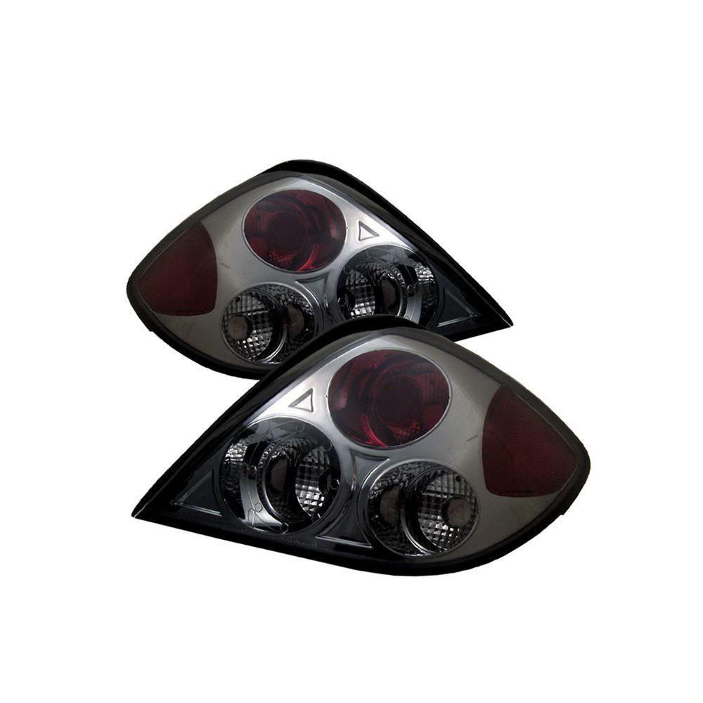 Spyder Auto ® - Smoke Euro Style Tail Lights (5005458)