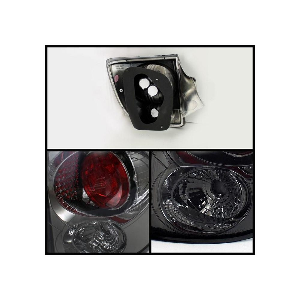 Spyder Auto ® - Smoke Euro Style Tail Lights (5033703)