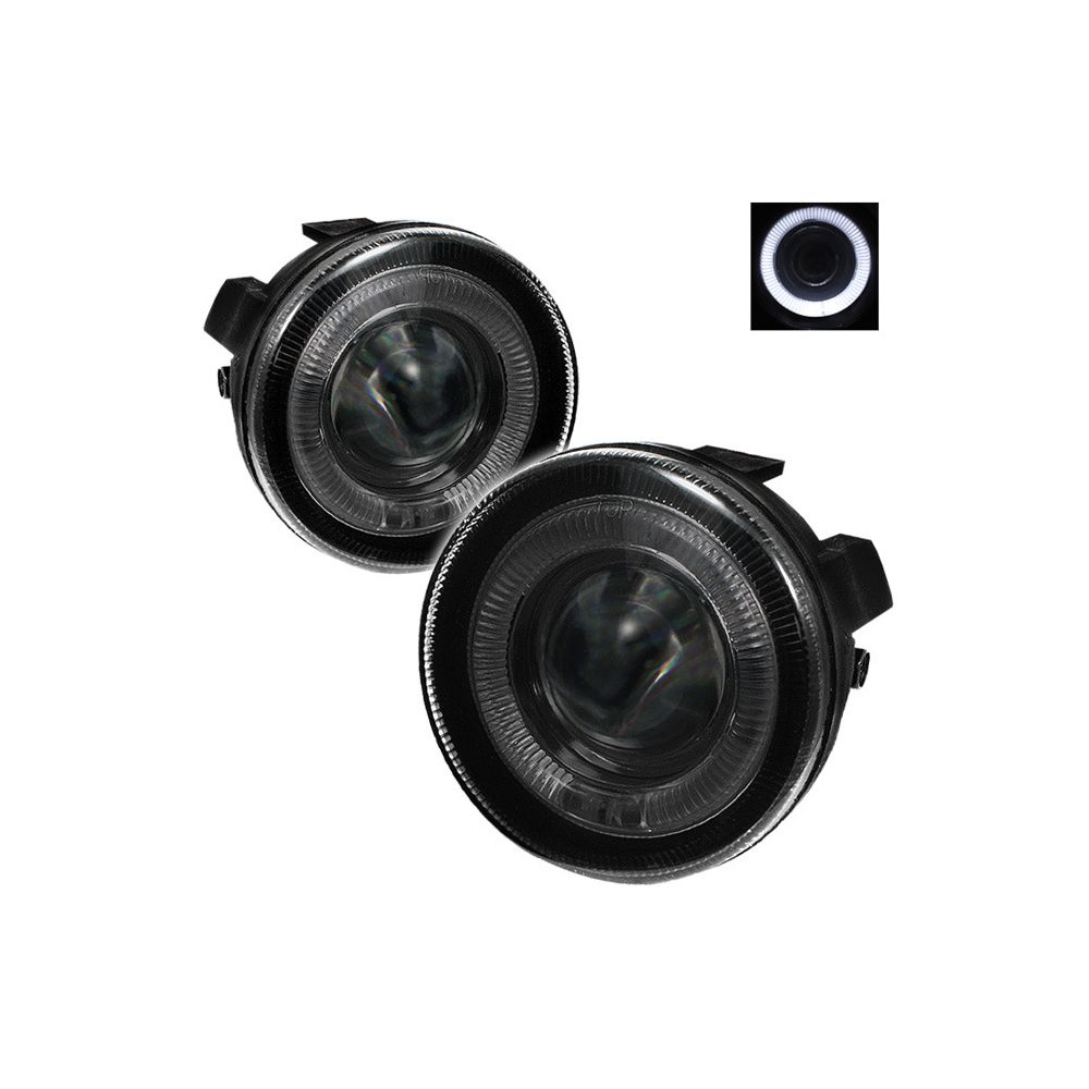 Spyder Auto ® - Smoke Halo Projector Fog Lights (5021229)