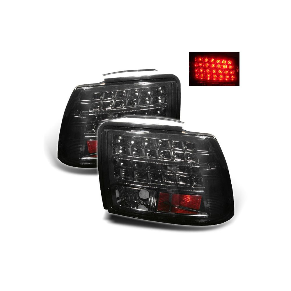 Spyder Auto ® - Smoke LED Tail Lights (5003720)