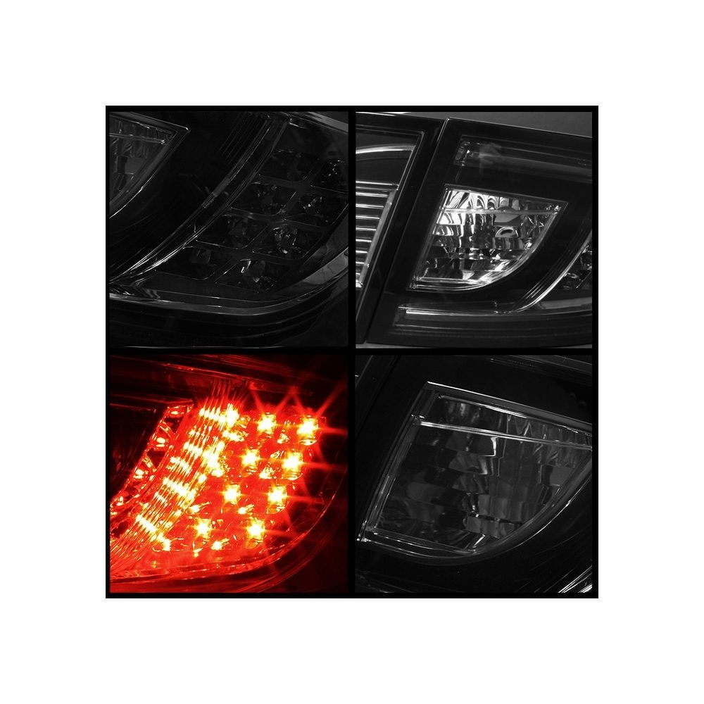 Spyder Auto ® - Smoke LED Tail Lights (5017406)