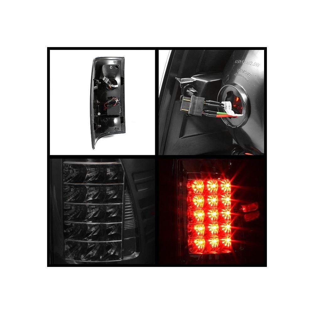 Spyder Auto ® - Smoke LED Tail Lights (5017581)