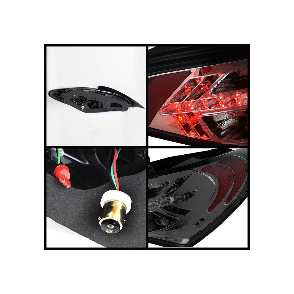 Spyder Auto ® - Smoke LED Tail Lights (5036858)