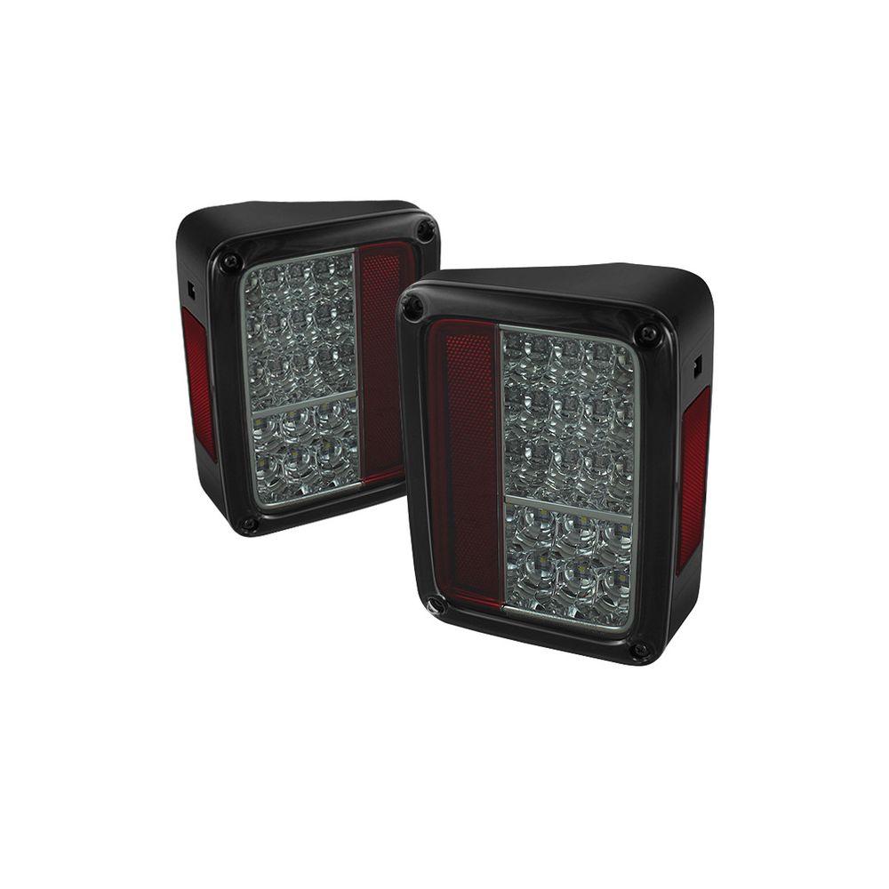 Spyder Auto ® - Smoke LED Tail Lights (5070418)