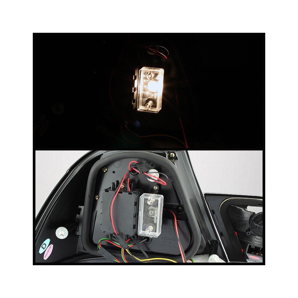Spyder Auto ® - Smoke Light Bar LED Tail Lights (5073846)