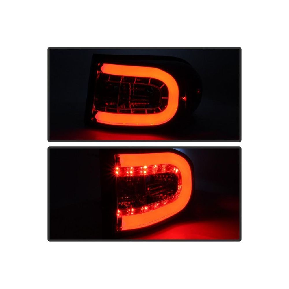 Spyder Auto ® - Smoke Light Bar LED Tail Lights (5079466)