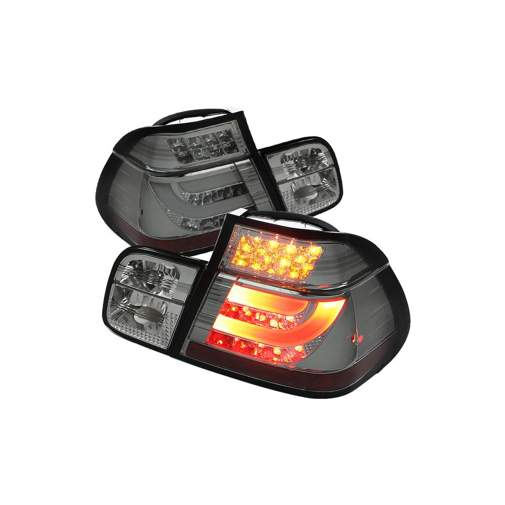 Spyder Auto ® - Smoke Light Bar Style LED Tail Lights (5037718)