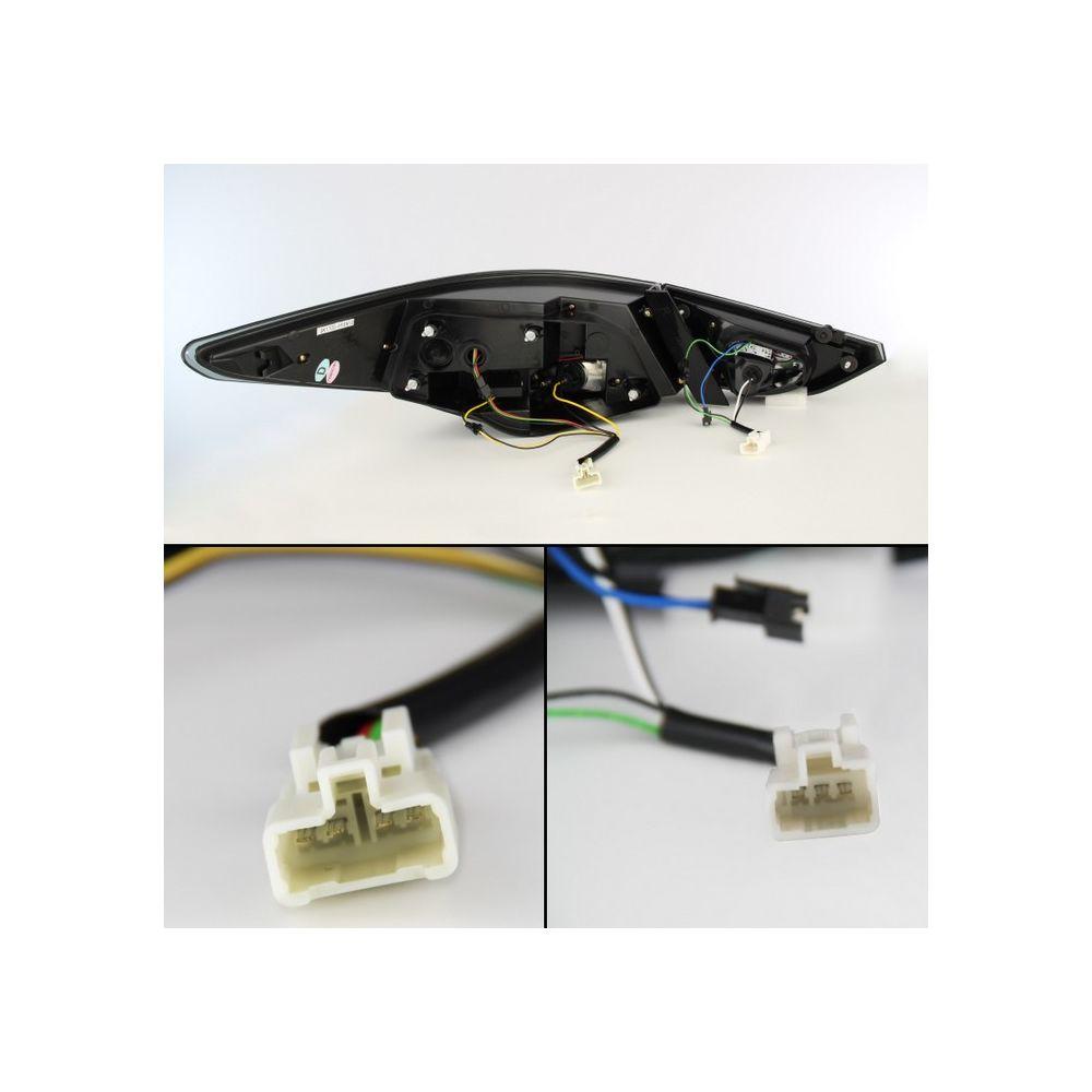 Spyder Auto ® - Smoke Light Bar Style LED Tail Lights (5075277)