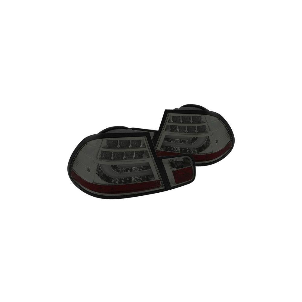 Spyder Auto ® - Smoke Light Bar Style LED Tail Lights (5080745)