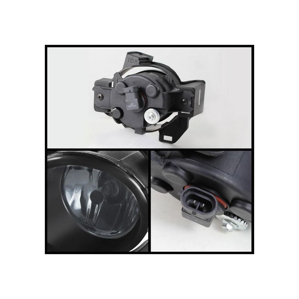 Spyder Auto ® - Smoke OEM Style Fog Lights (5071699)
