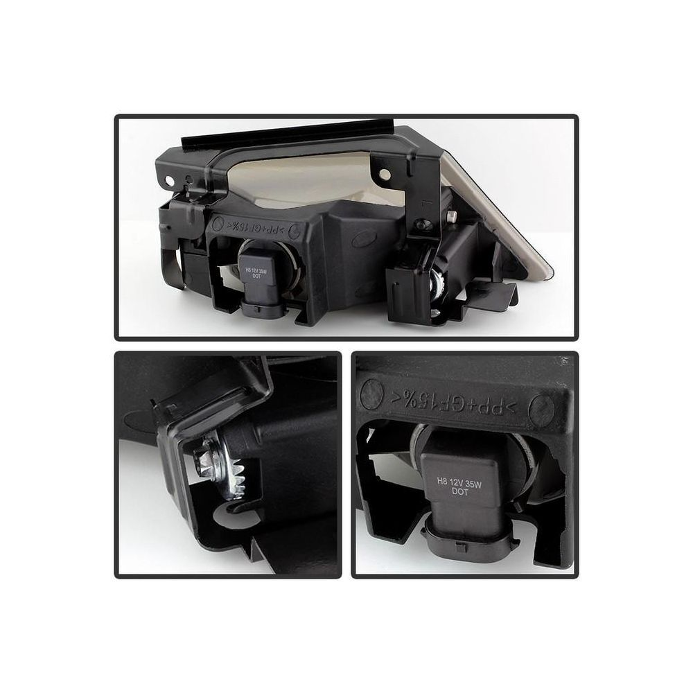 Spyder Auto ® - Smoke OEM Style Fog Lights (5077431)