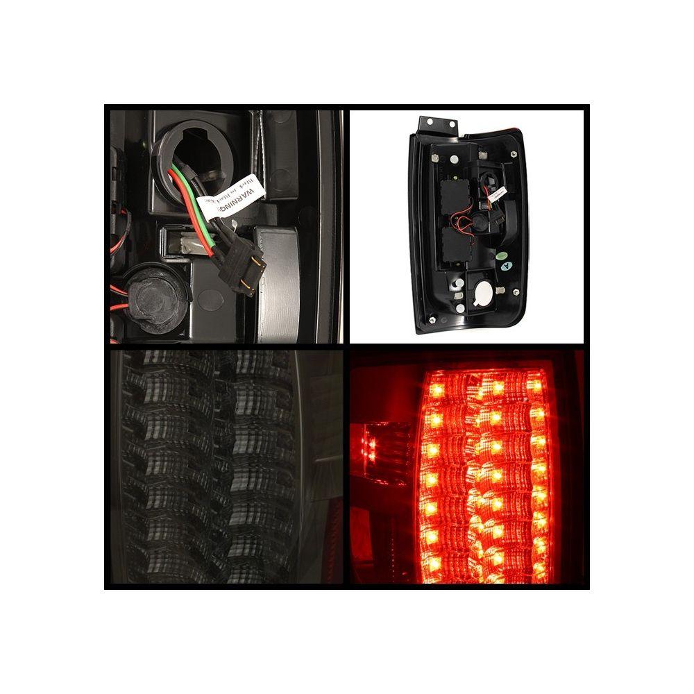 Spyder Auto ® - Smoke Version 2 LED Tail Lights (5002891)