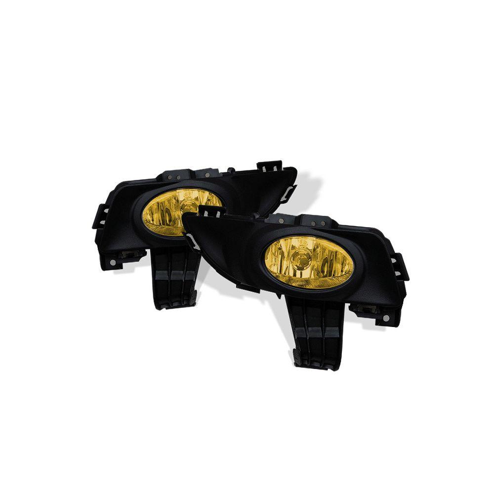 Spyder Auto ® - Yellow OEM Style Fog Lights (5021120)