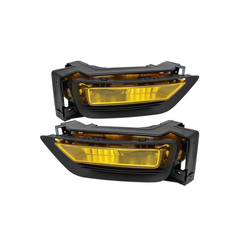 Spyder Auto ® - Yellow OEM Style Fog Lights (5076090)