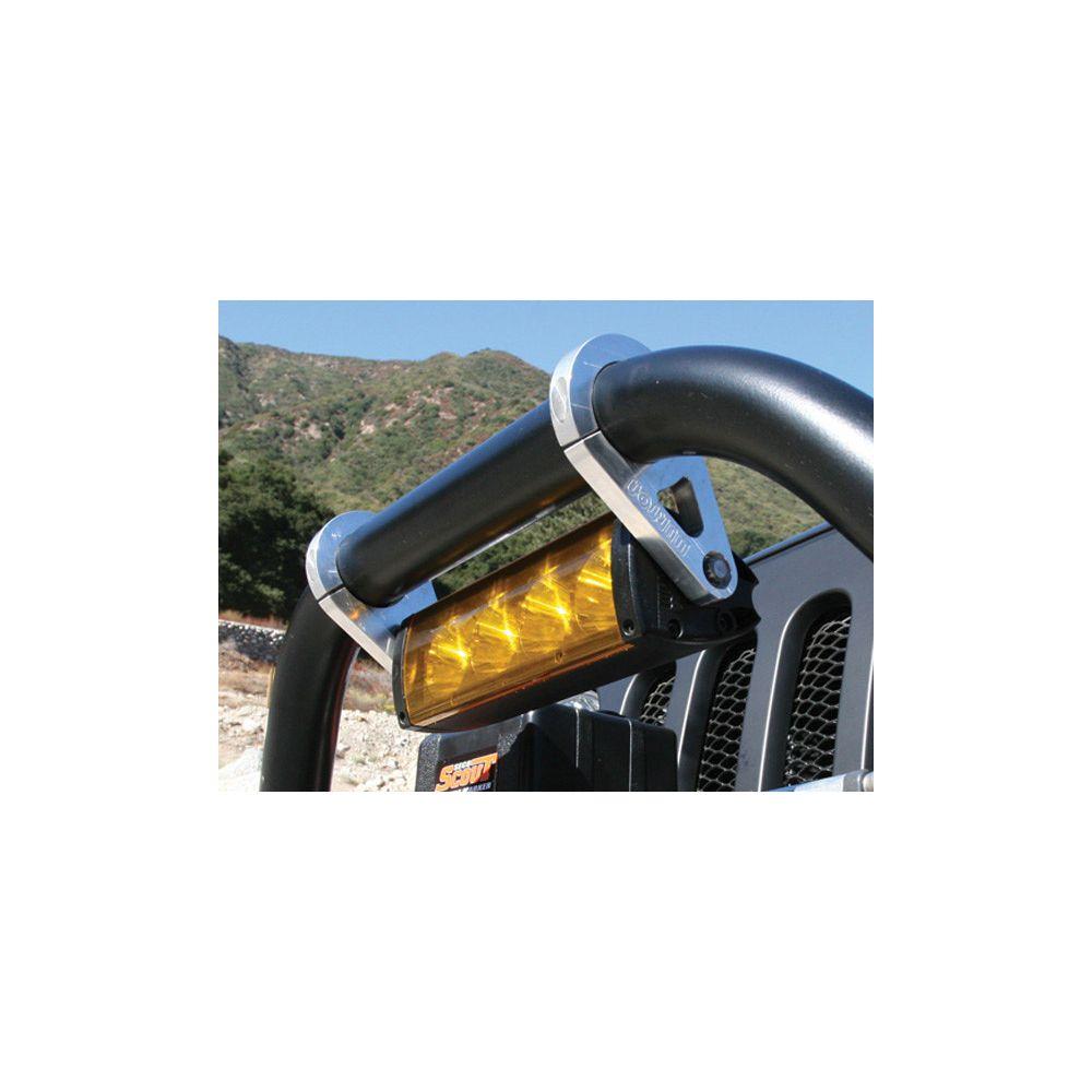 Wurton ® - 1.25 Inch Aluminum Tube Clamp Light Bar Mounting Brackets (86210)