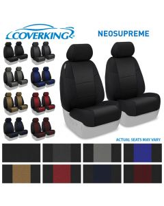 Coverking ® - Neosupreme Front Row Custom Seat Covers (CSC2ADG7301)