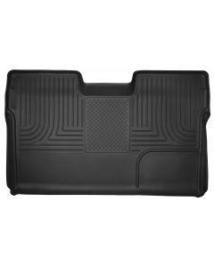 Husky Liners ® - X-act Contour™ Black Custom Full Coverage 2nd Seat Floor Liner (53391)