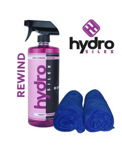 Hydrosilex 16 oz Rewind Aftercare Wax And Grease Remover Soap With 2 Microfiber Towels
