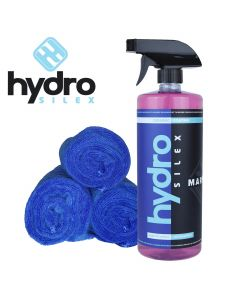 Hydrosilex 32 oz Marine Nano Ceramic Coating Paint For Boats With 3 Microfiber Towels