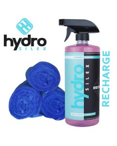Hydrosilex ® - 32 oz Recharge Nano Ceramic Coating Paint For Cars With 3 Microfiber Towels