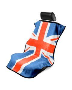 Seat Armour ® - Towel Seat Cover with RWB British Flag (SA100MINIRWB)